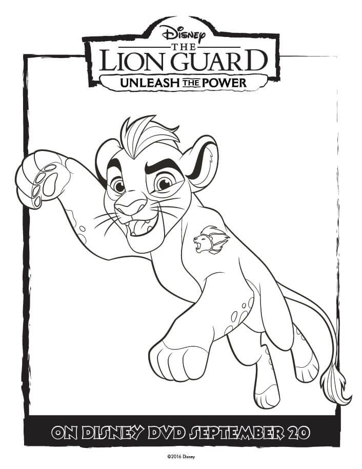 The Lion Guard Coloring Pages Unleash The Power Lion Coloring Pages Disney Coloring Pages King Coloring Book