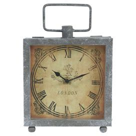 Jeremiah Round Oversized Wall Clock Metals Mantles And