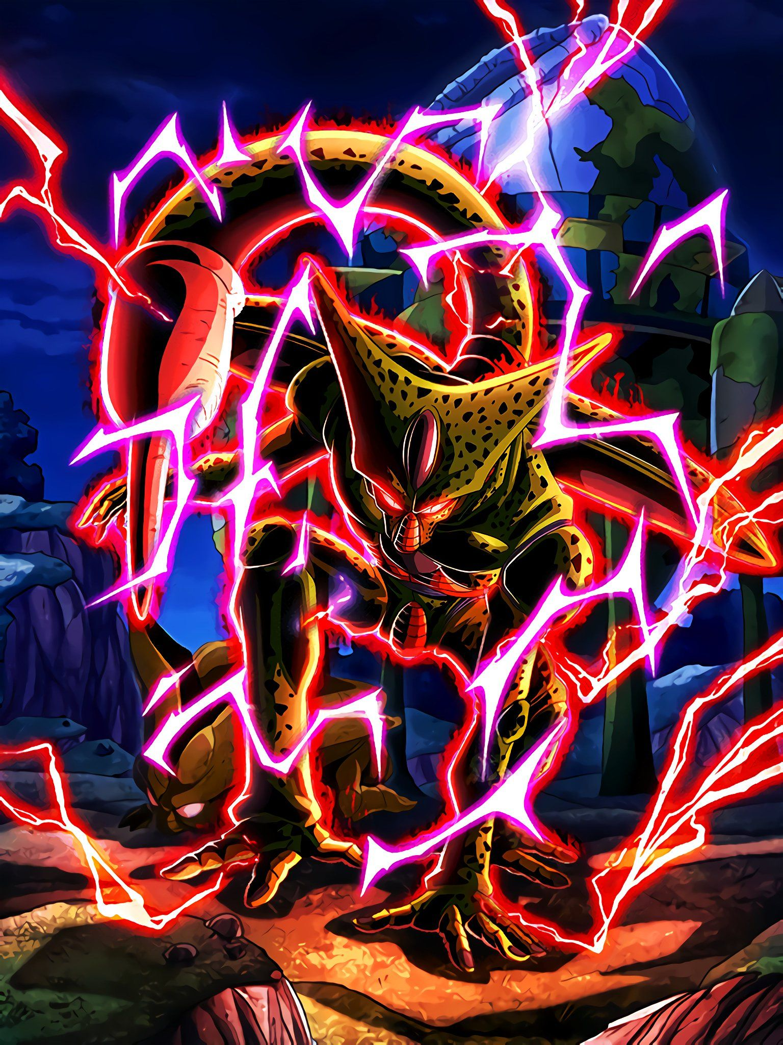 hydros on dragon ball z imperfect cell dragon ball