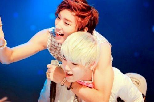 jongup and zelo my lovelies bap kpop bap pop group