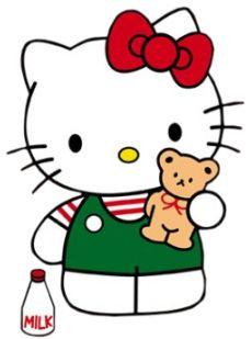 Hello Kitty with Teddy Bear | Kawaii | Pinterest | Teddy bears ...