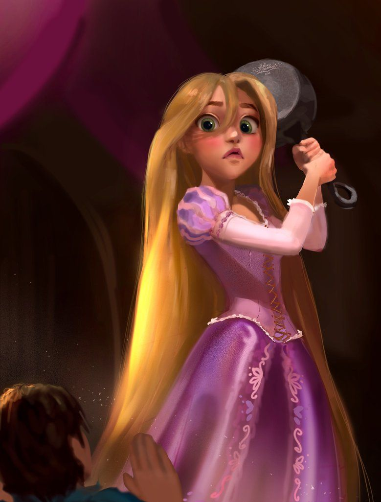 Rapunzel should have figured out her identity way long before Ryder.