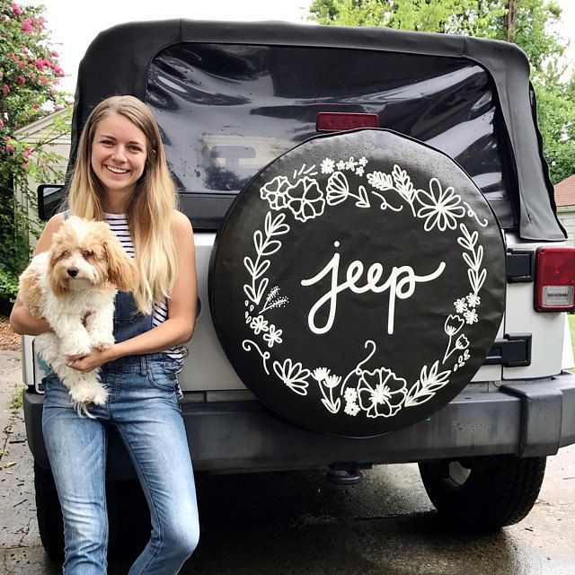 The Tire Cover Shop Floral Jeep Tire Cover Jeep Tire Cover