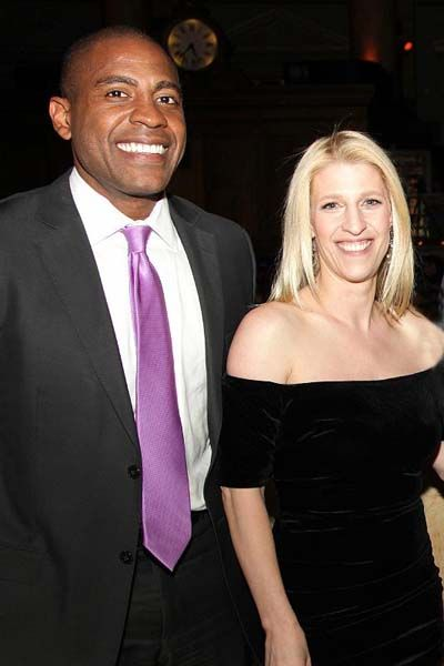 Goldman Sachs Managing Director Carlos Watson And The Opportunity Network Founder And Executive Director Jessica Pliska A Opportunity Executive Director Annual