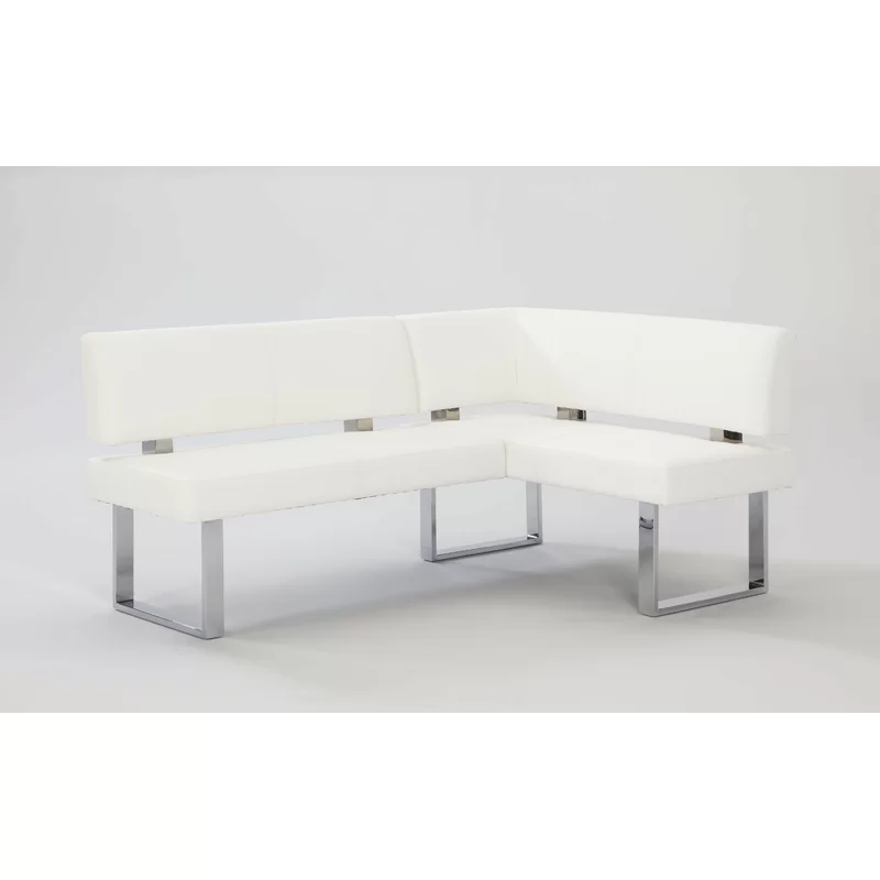 Linden Upholstered Faux Leather Bench Leather Bench Leather Dining Leather Kitchen