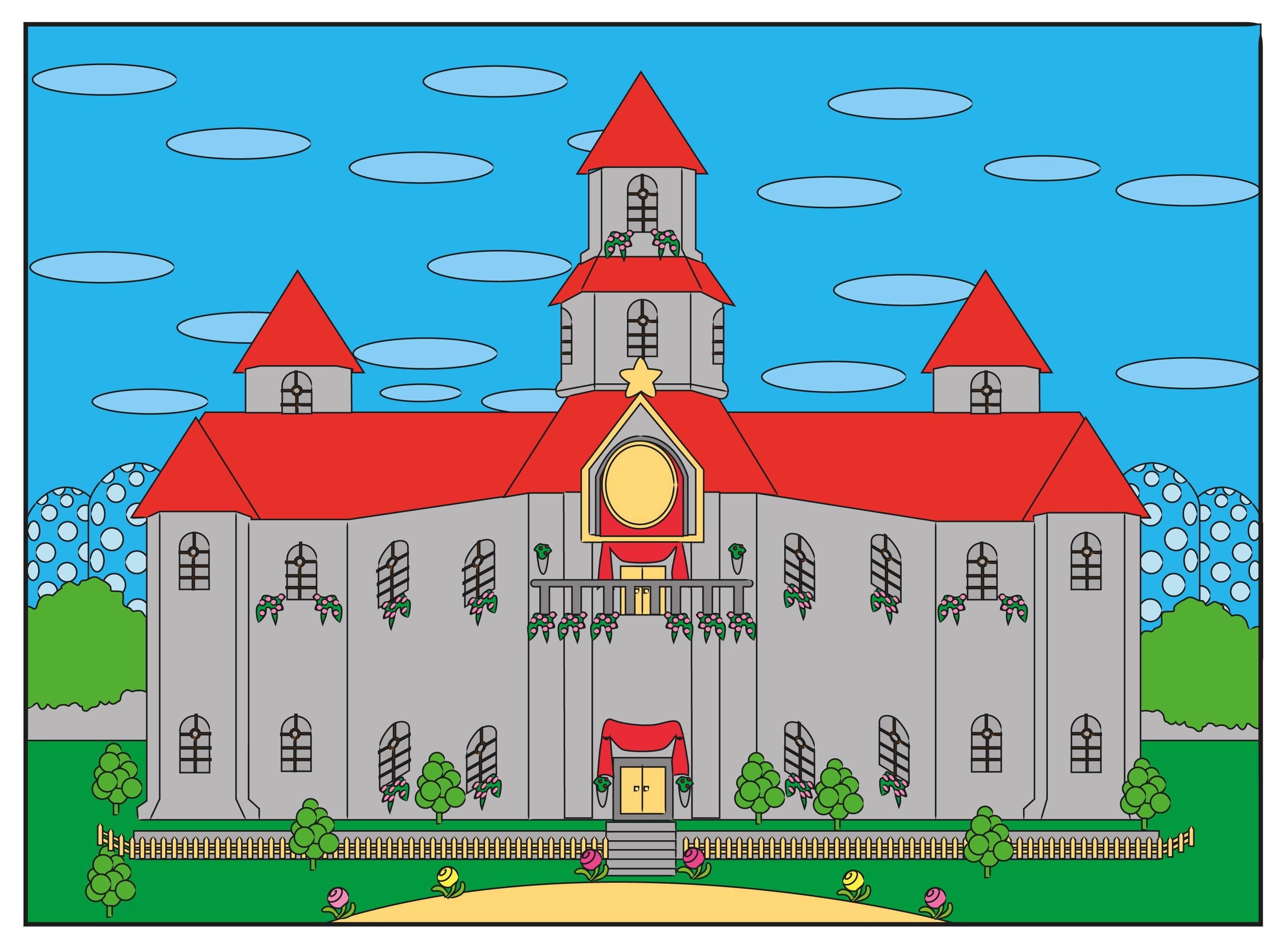 How To Draw Princess Peach S Castle Princess Drawings Drawings Castle