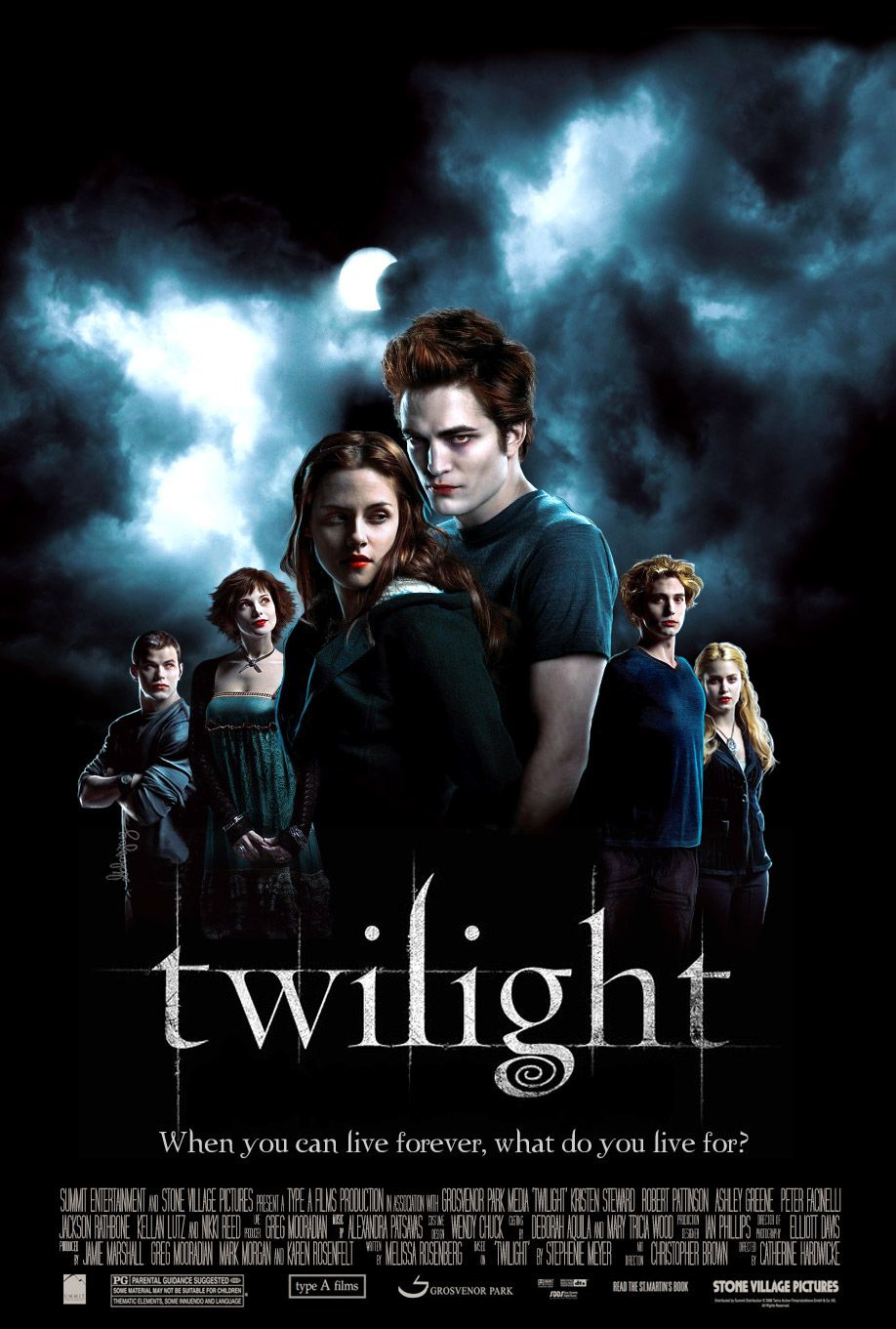 Resulta ng larawan para sa twilight movie poster