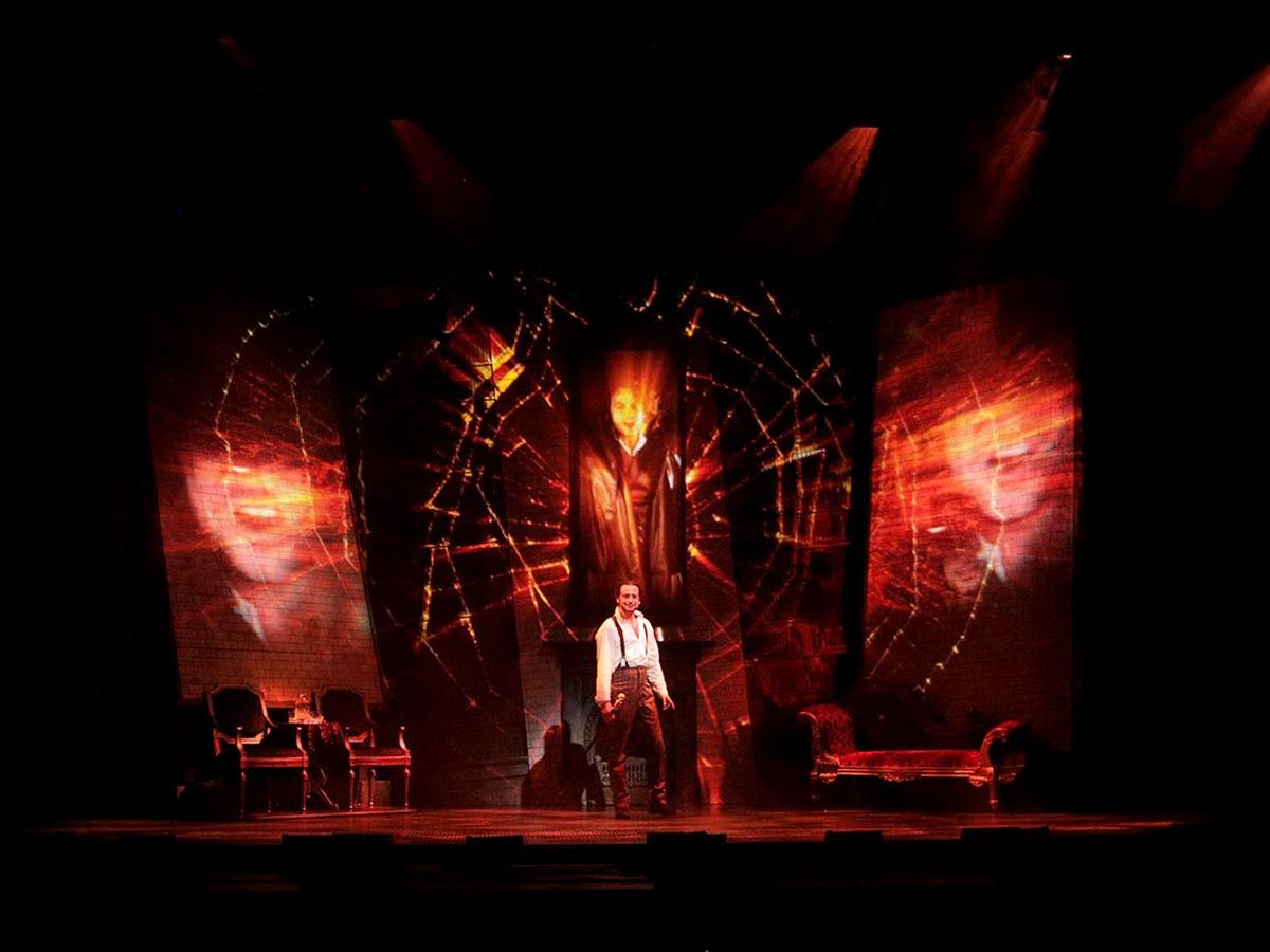 Jekyll And Hyde The Musical Broadway Revival Jekyll Constantine Maroulis Hyde