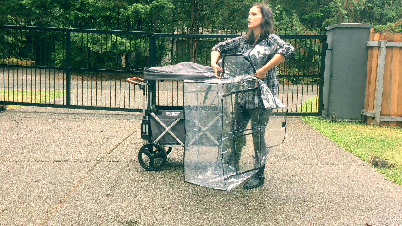 Keenz 7s Stroller Wagon Rain Cover YouTube Stroller