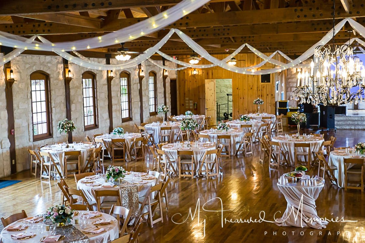 reception hall near San Antonio, TXin the Texas