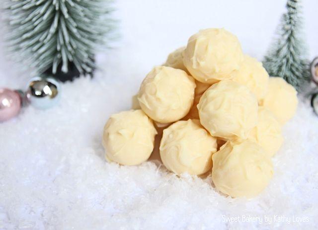 Eierlikör Pralinen mit Hohlkörpern wie vom Profi, Geschenke aus - geschenke für die küche