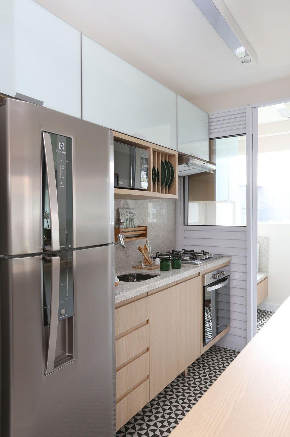 M rito penha decora o pinterest cocinas for Cocinas modernas apartamentos pequenos