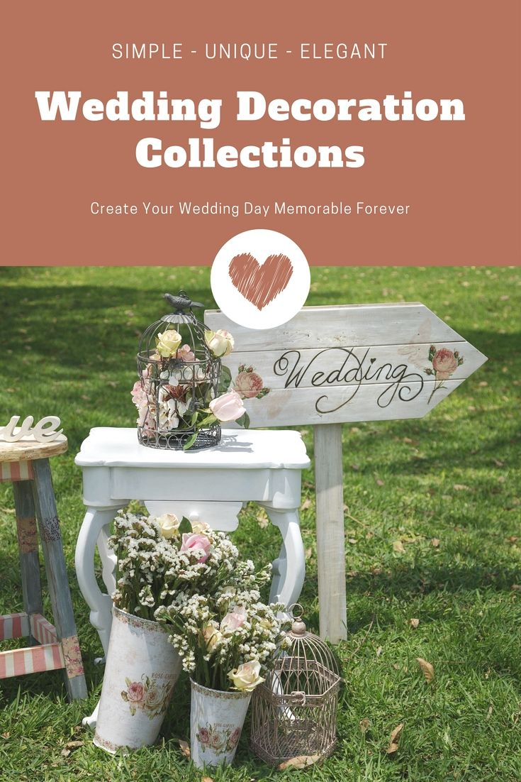 Simple wedding decoration designs  Dress Up Your Wedding Decoration By One Of These Stunning Wedding