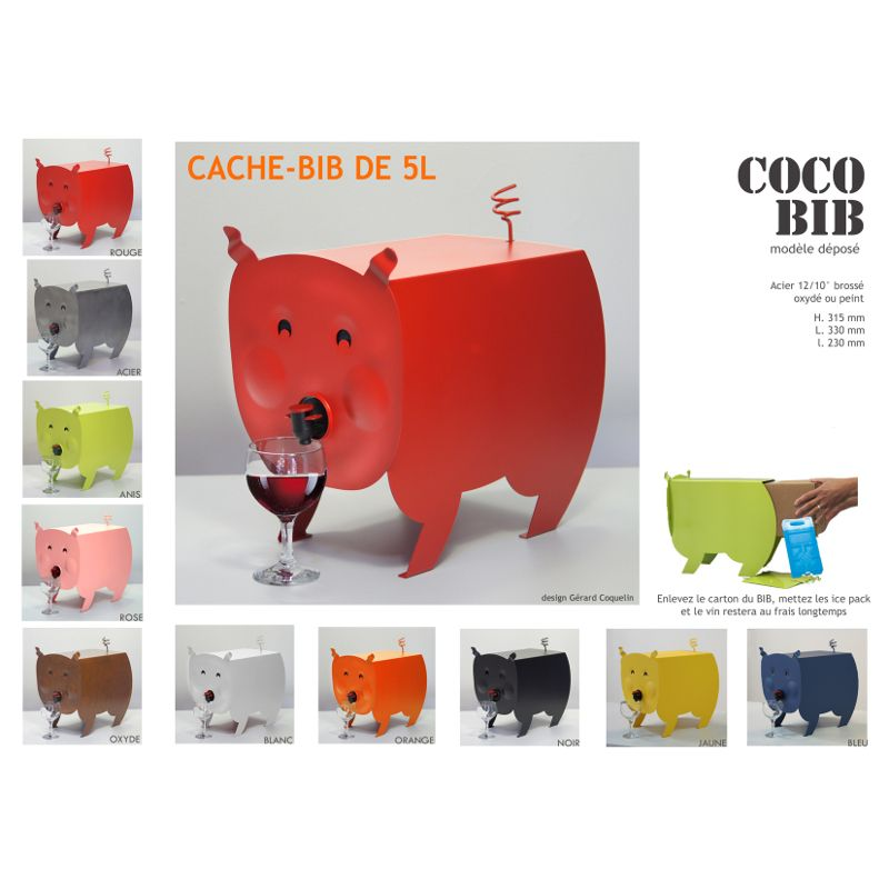 cubi cochon bag in box original pinterest. Black Bedroom Furniture Sets. Home Design Ideas