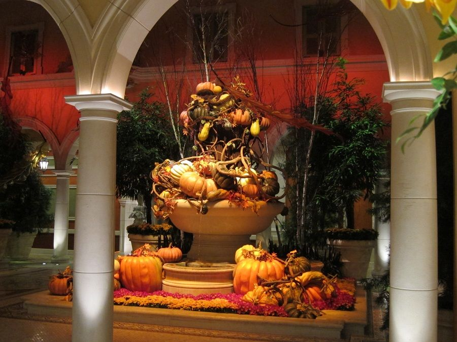 Halloween and Thanksgiving Decorations in Las Vegas