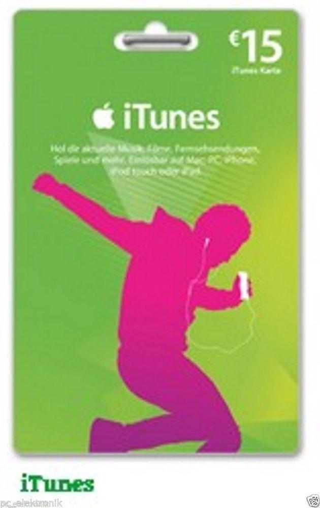Itunes 15 Eu Gutschein Code Per Email Max 1 Std Apps Musik