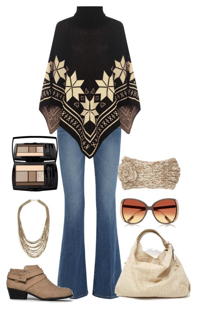 """""""Untitled #453"""" by ay-cr on Polyvore featuring Frame Denim, WearAll, River Island, Furla, Topshop, Soda, Billabong and Lancôme"""