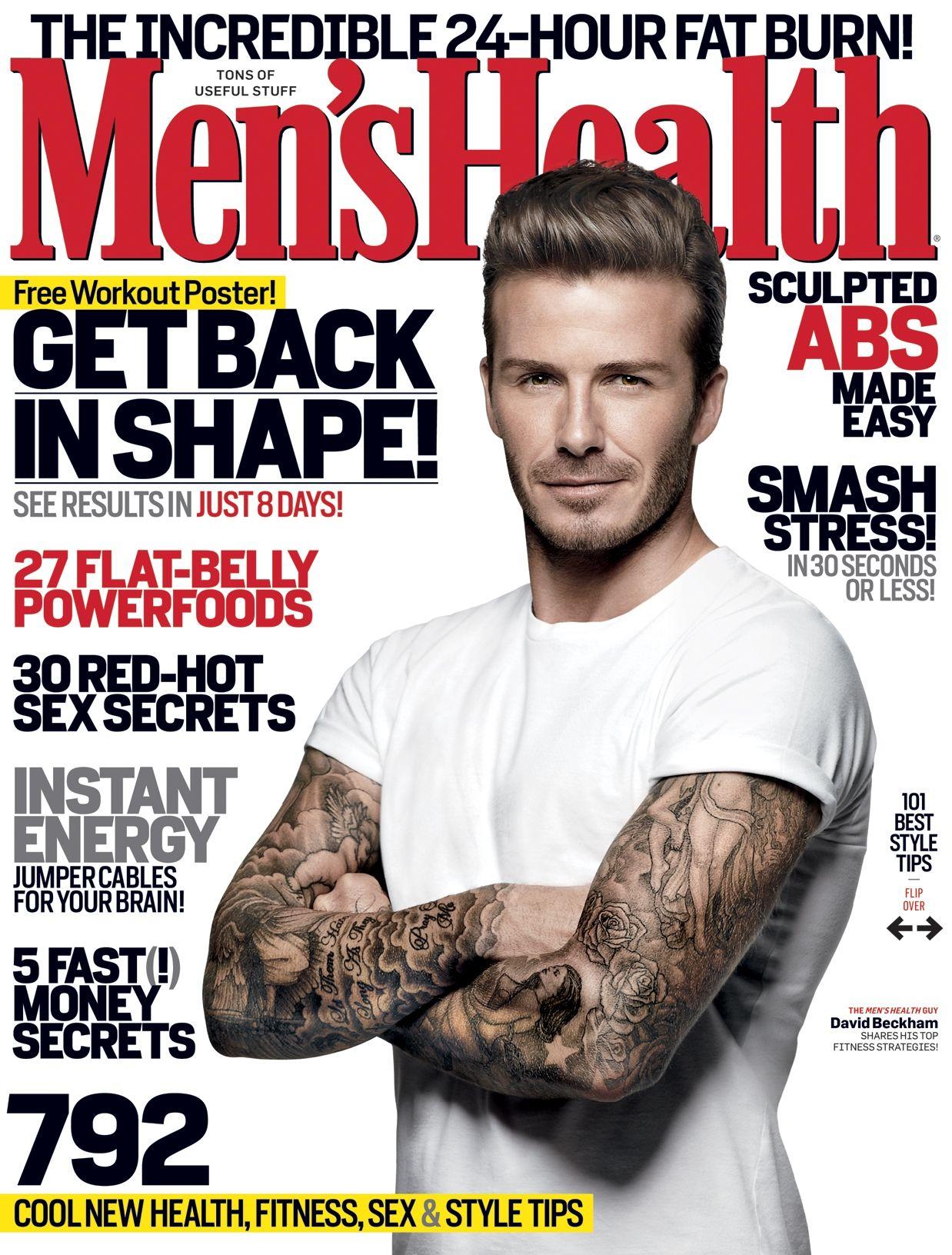 7acafacee4c David Beckham Men s Health