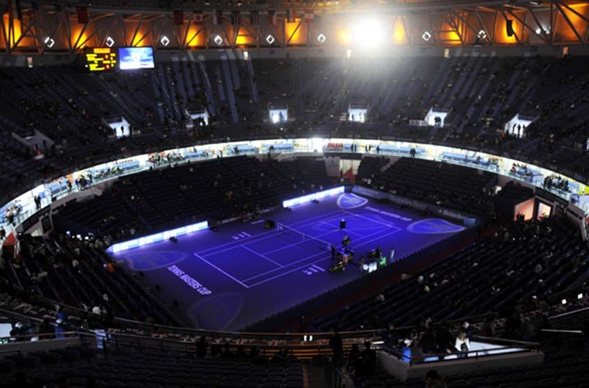 Qizhong Forest Sports City Arena Is A Tennis Arena In Shanghai
