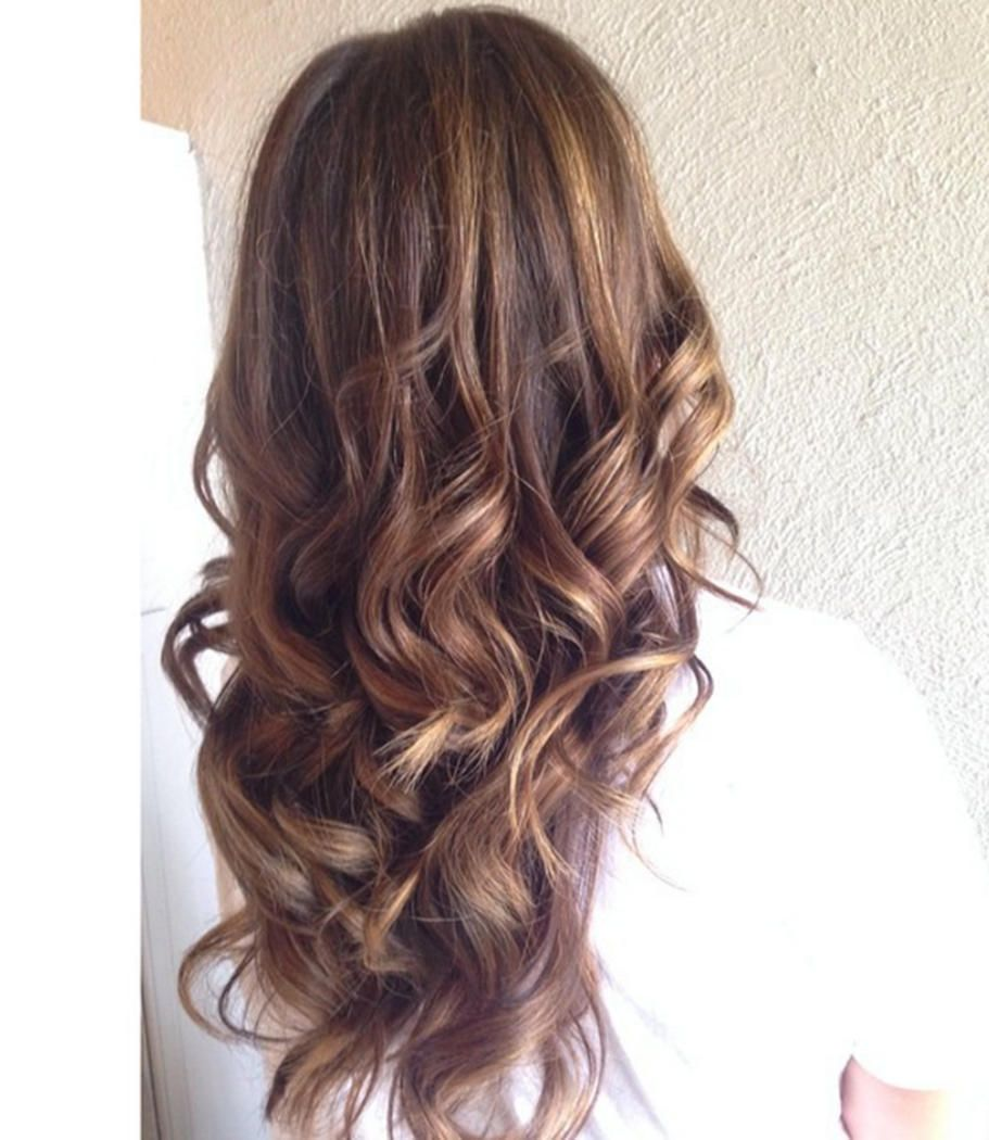 brunette hair with underlights - Google Search | Hair ...