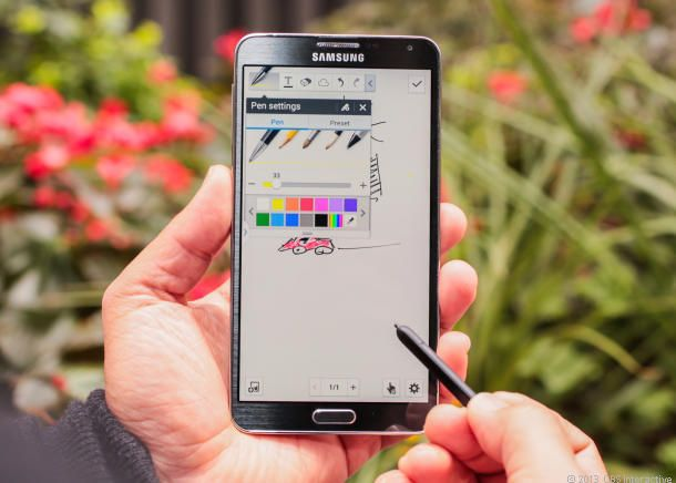 Make sure you're using the S Pen correctly