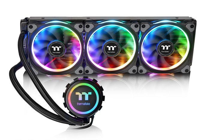 Thermaltake Unveils Floe Riing Rgb Tt Premium Edition Series At