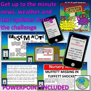 ESCAPE ROOM: Nursery Rhyme -10 Challenges, Real-time news ...