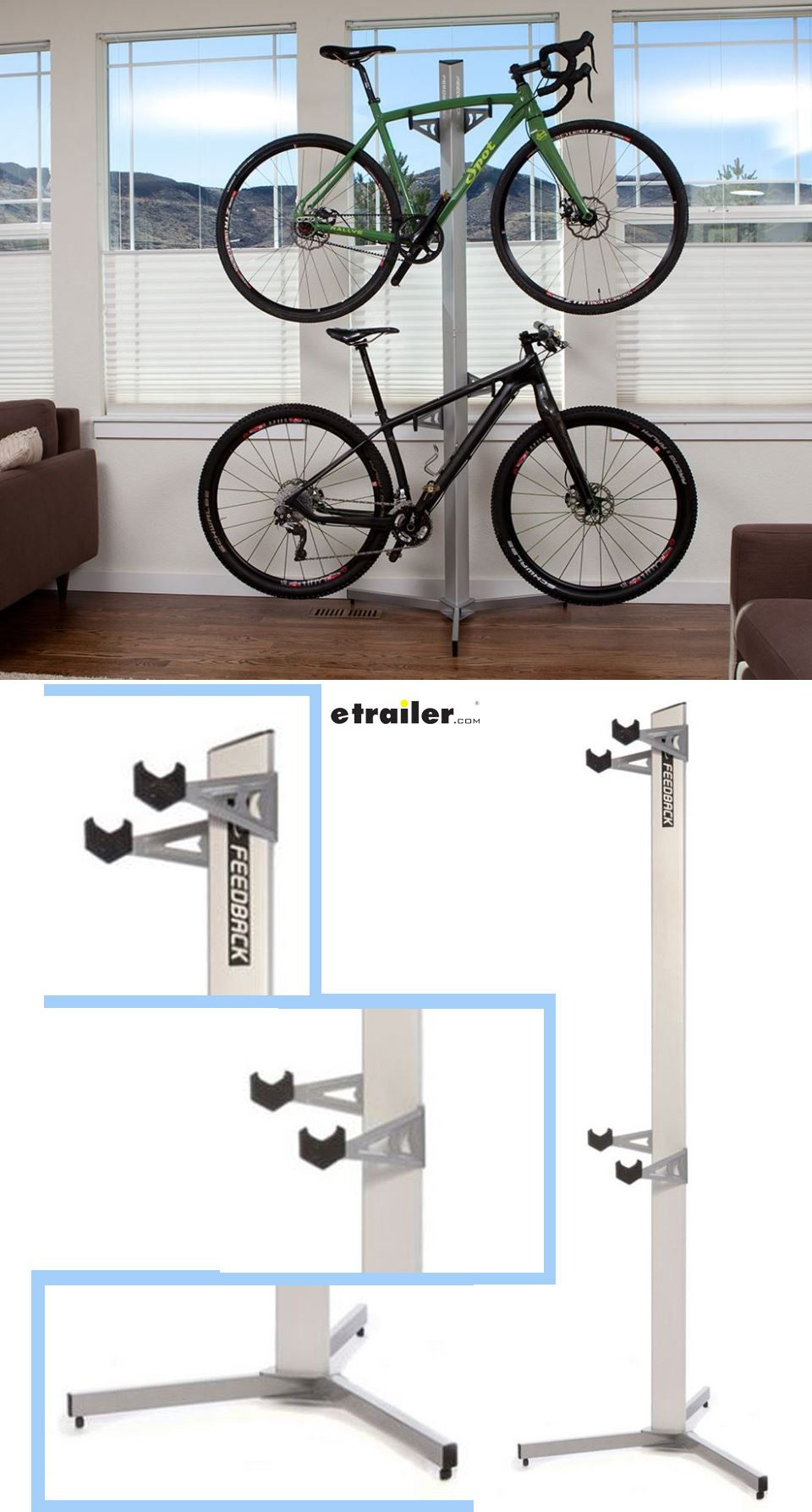 Feedback Sports Velo Cache Bike Storage Rack