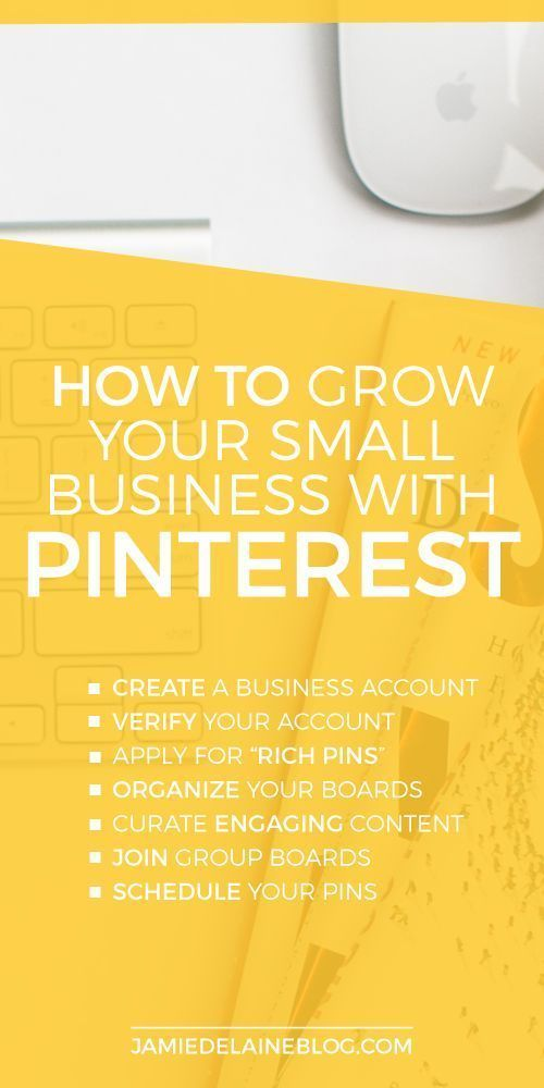 Using Pinterest For Your Small Business http://jamiedelaineblog.com/post/25602/using-pinterest-for-your-small-business/