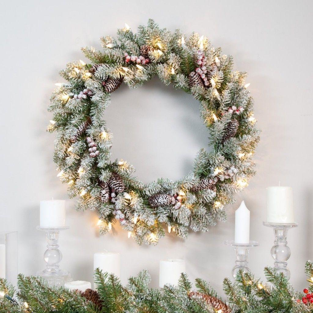 Новогодний венок урок | сделай сам !happy New Year | Pinterest ...