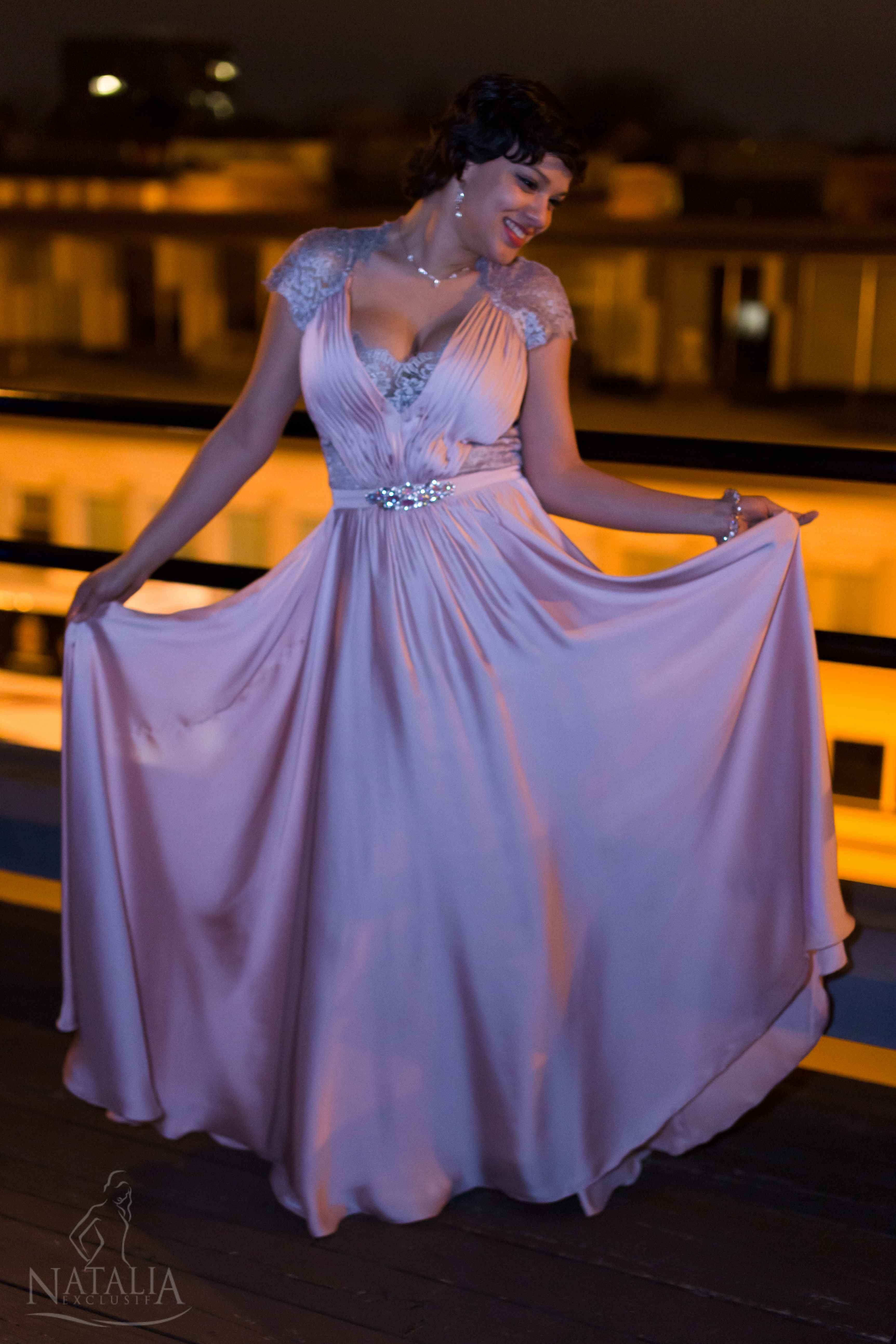 Beautiful evening gown prom dress boutique natalia exclusif