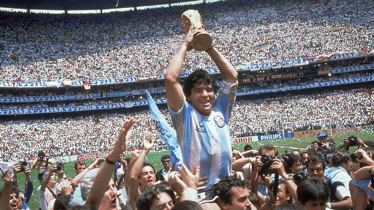 Maradona Fine After Being Treated By Medics World Cup Germany Vs Argentina