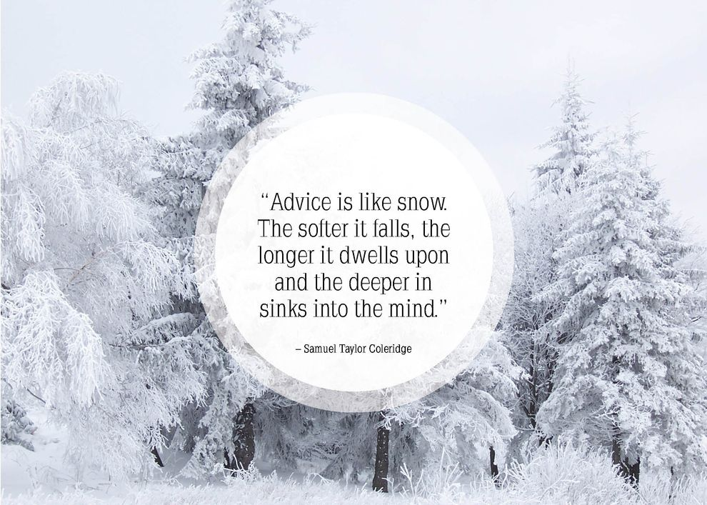 cute snow quotes
