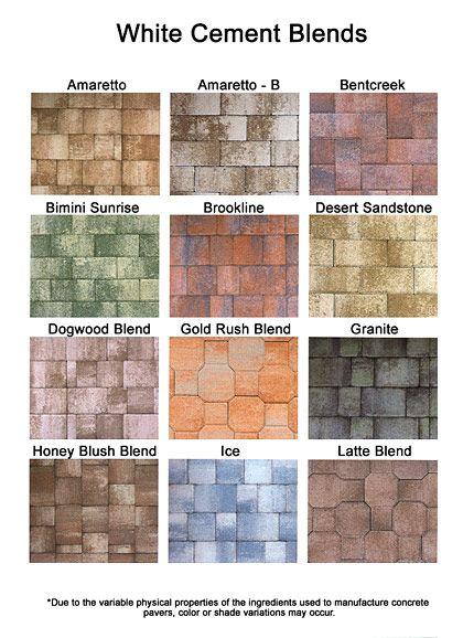 colored pavers brick paver colors install pavers brick patio