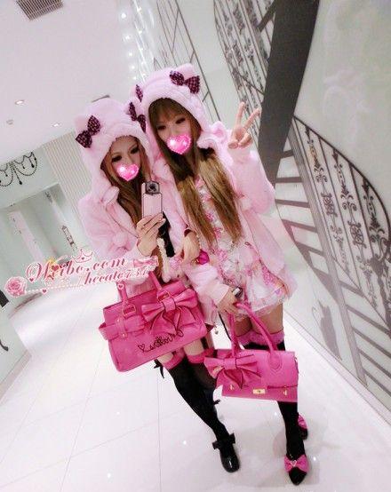 gyaru-coordinates: shop: pussycatdoll@taobao.com blog: weibo.com/hecate731 | Gyaru fashion. Japanese street fashion. Kawaii fashion