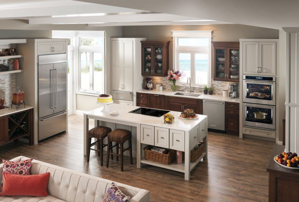 Pro appliances crafting a professional kitchen built in