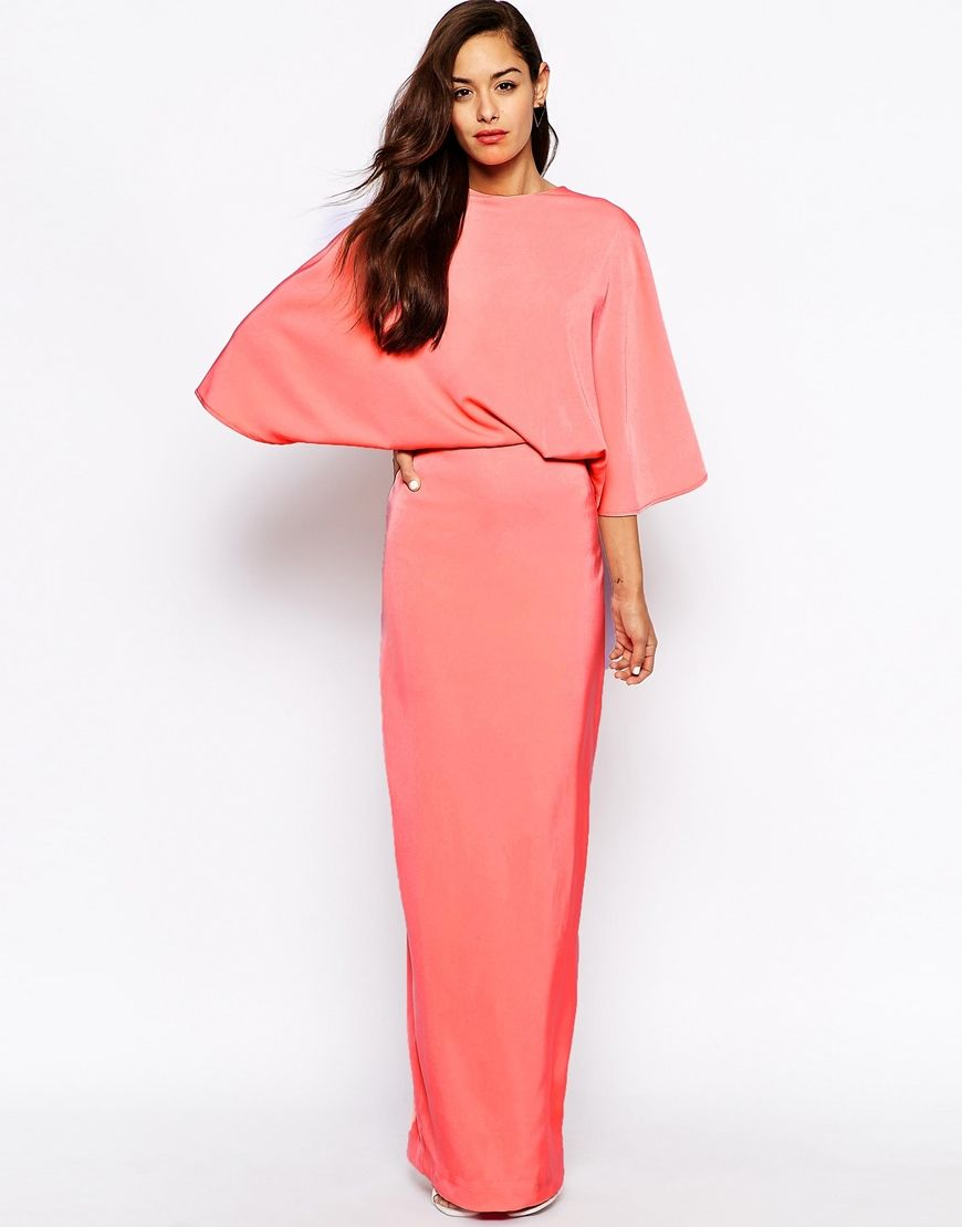 Maxi long kimono dress