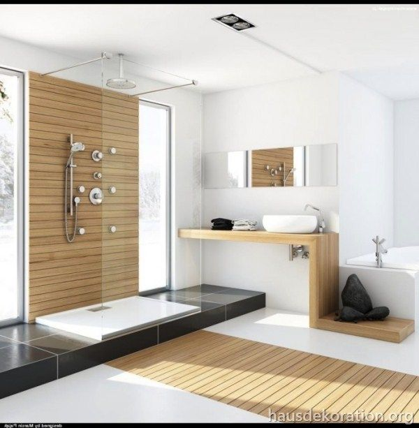 2013\/02\/modernes badezimmer natürliche materialien bambus holz - badezimmer bambus