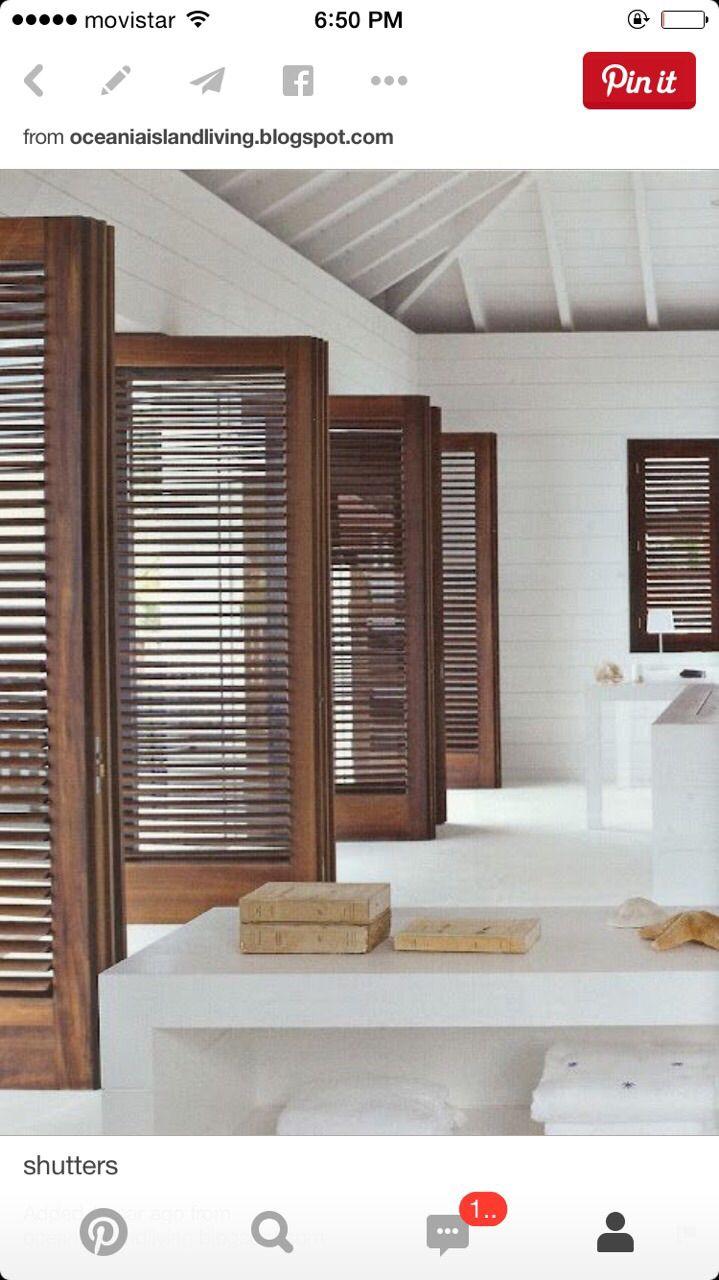 Romanilla shutters pinterest studio room doors and hospitality