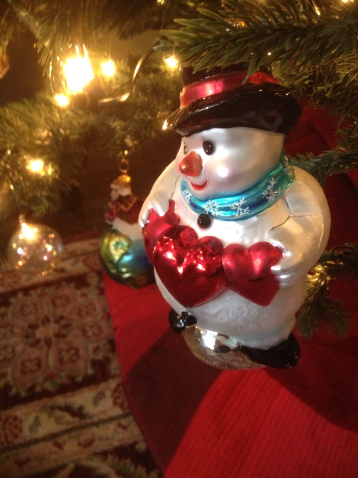 Big hearted snowman ORNAMENTS FROM MY COLLECTION Pinterest