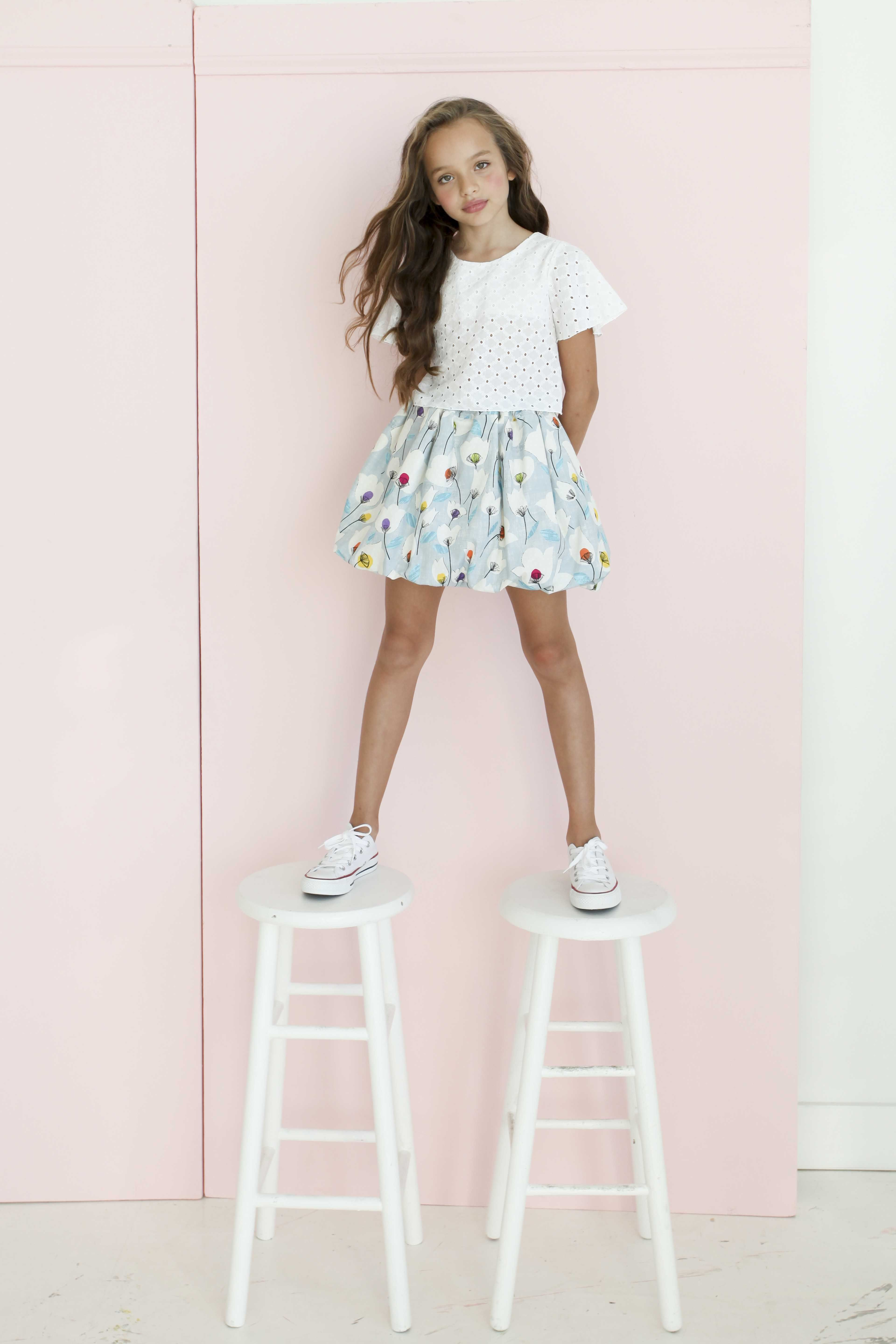buy popular 3b43e 58f50 Mary at Zuri Models for Aria Kids by LEE CLOWER PHOTOGRAPHY pastel spring  looks tween fashion
