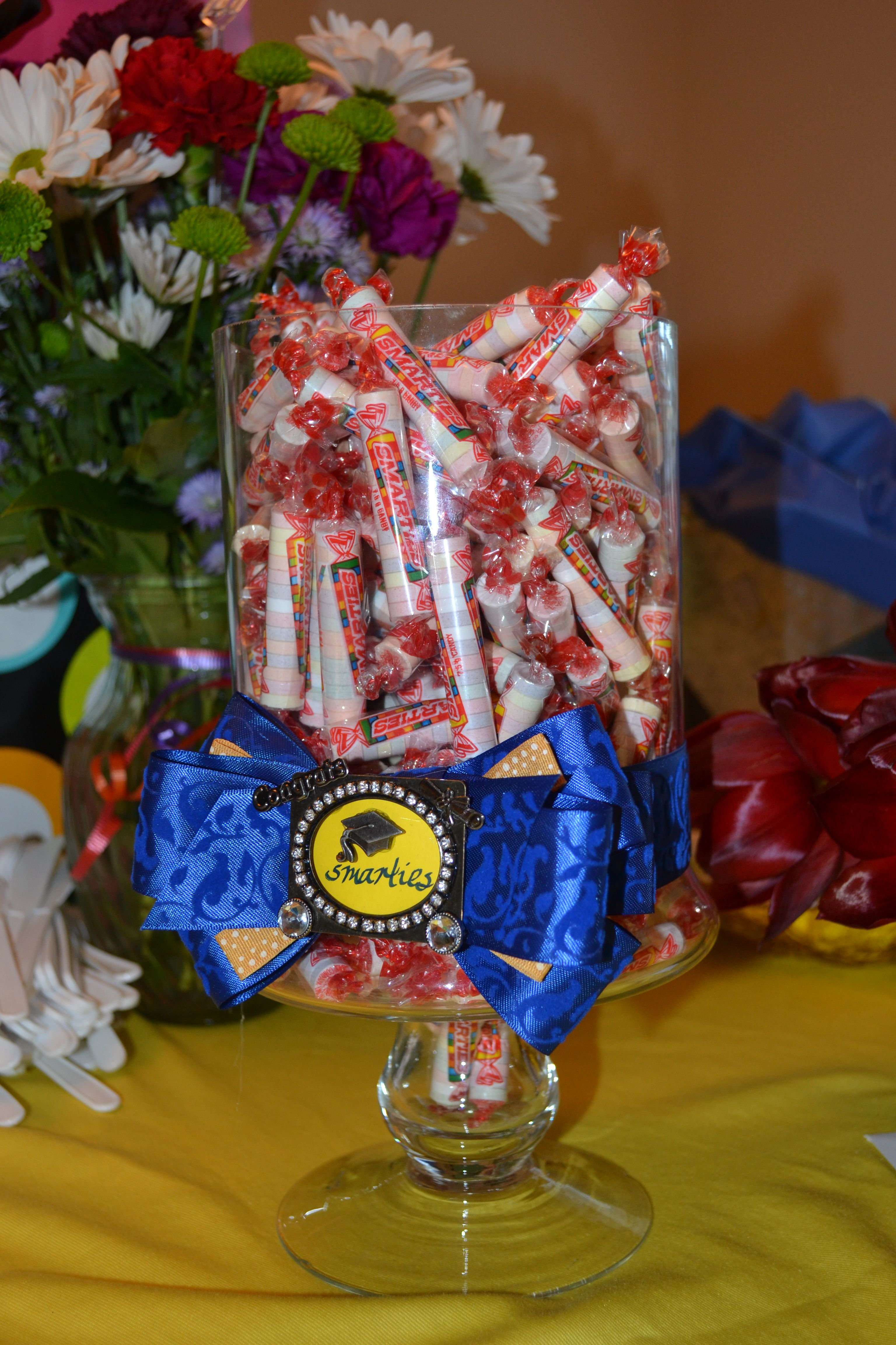 Graduation centerpiece general crafts pinterest