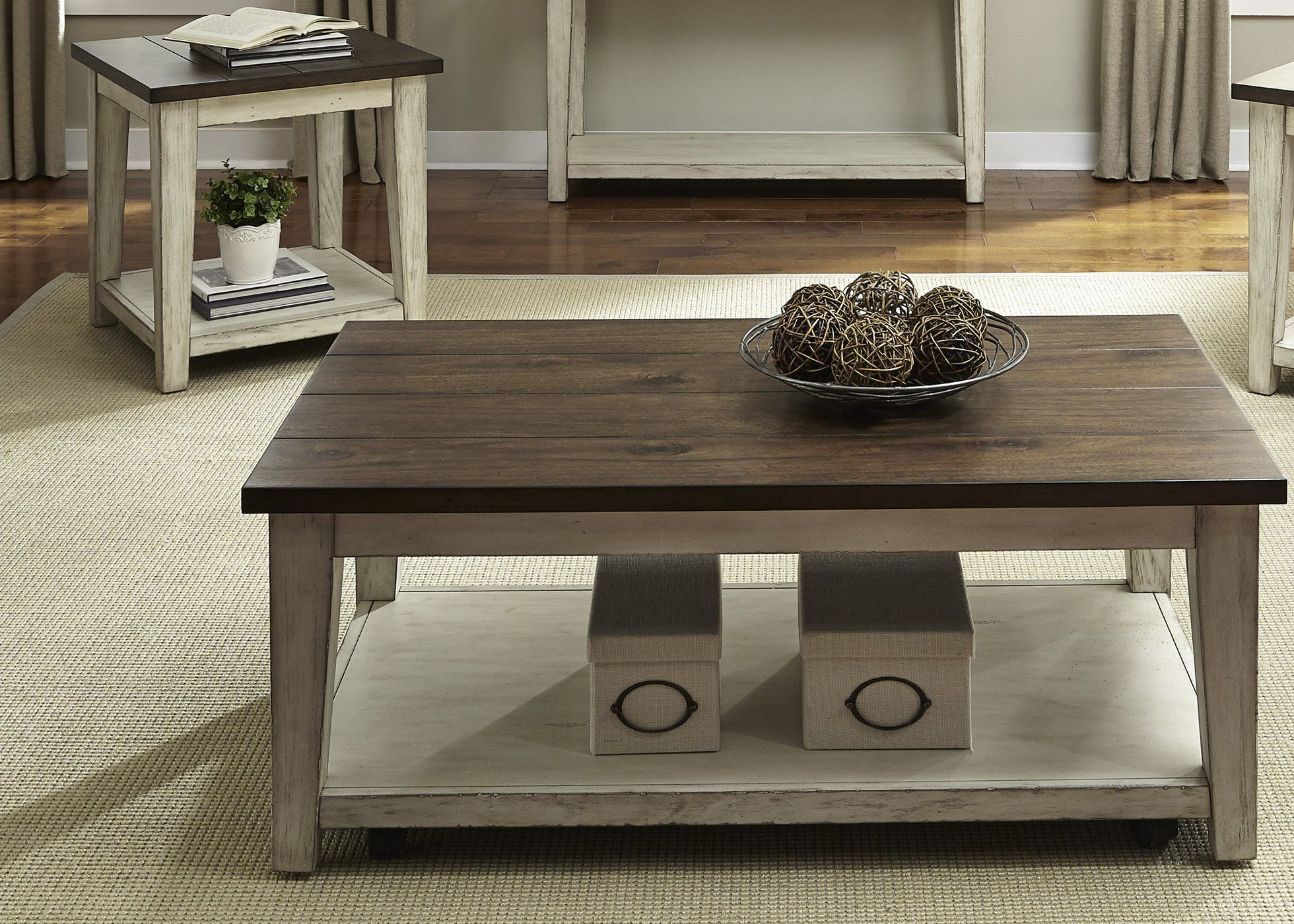 Best Lancaster Occasional 3 Piece Set Coffee Table Furniture 640 x 480