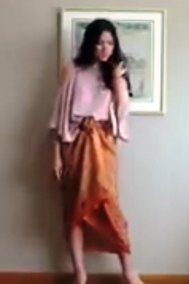 Tutorial 4 Cara Kain Batik Menjadi Rok Tanpa Dijahit  Model Baju