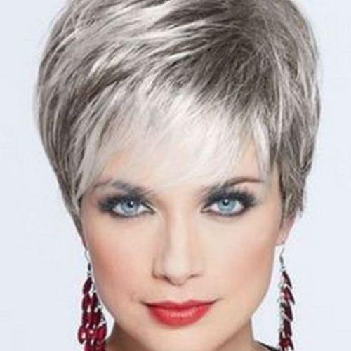 Cortes De Pelo Corto Para Las Mayores 50 Años 2 Me Gusta Pinterest Silver Hair And Coloring