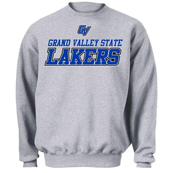 Grand Valley State University Lakers GVSU Pullover Hoodie College Sweatshirt