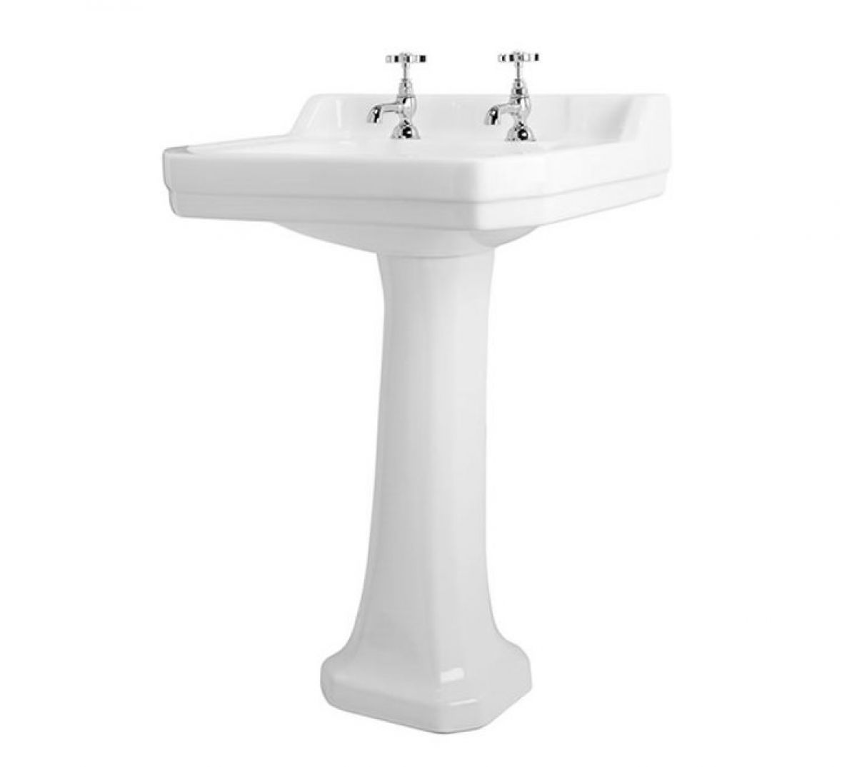 Traditional Bathroom Sinks Shires Waverley Edwardian 56cm Basin Tinagroo Pedestal Sinks