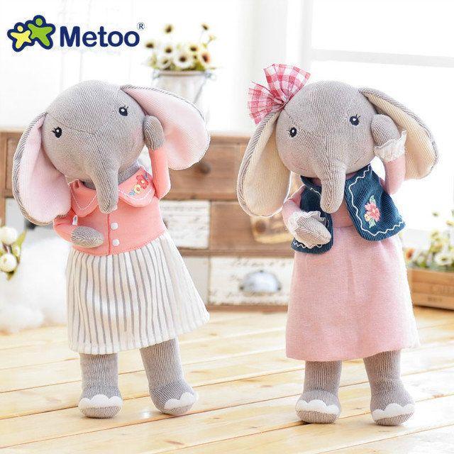 유명 브랜드 metoo 안젤라 숲 운이 코끼리 귀여운 봉제 인형 커플 인형 세대 안젤라 봉제 장난감 달콤한 선물 아이