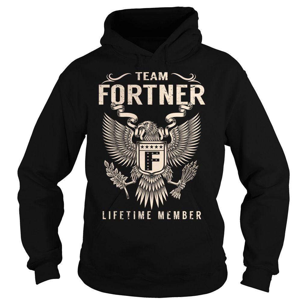 Team FORTNER Lifetime Member - Last Name, Surname T-Shirt