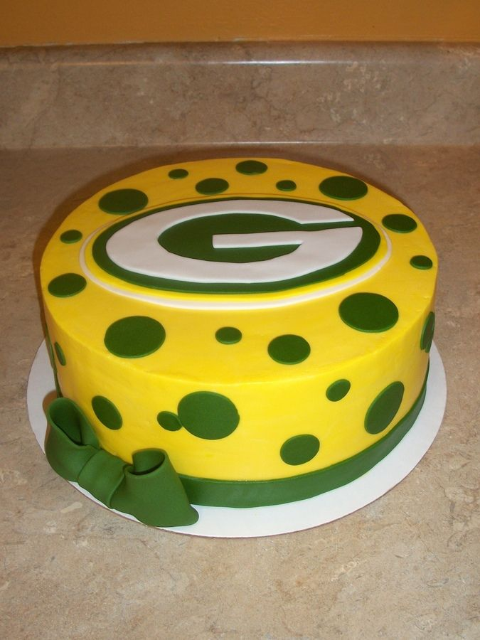 Greenbay Packers Cake Football Nfl Cakes Pinterest Packers